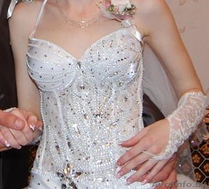 платье свадебное  в идеальном состоянии - Изображение #3, Объявление #882515